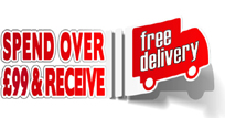 FREE STANDARD DELIVERY - until Tuesday 9am