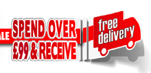 Free Delivery When You Spend Over £99