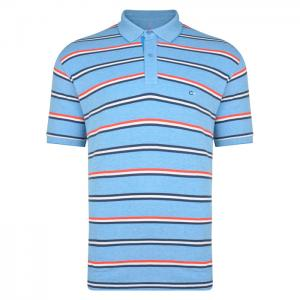 Peter Gribby Stripe Polo Shirt