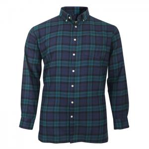 Espionage Brushed Cotton Check Shirt